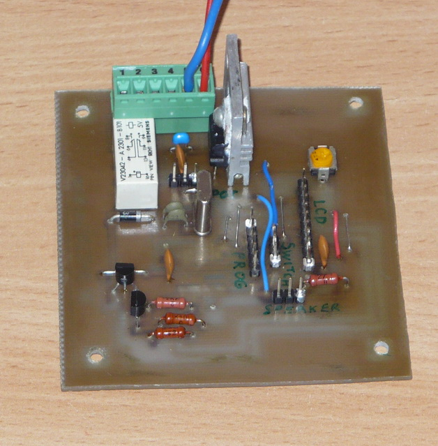 PCB components side