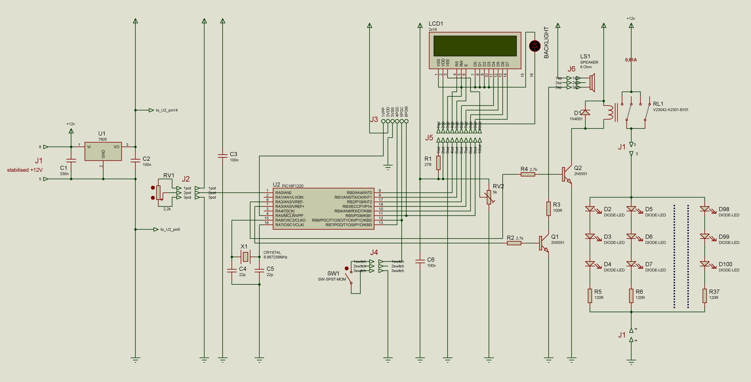 My Uv Led Exposure Box Simple Automation Printed Circuit Board Schematics And Here We Have Designed Timers