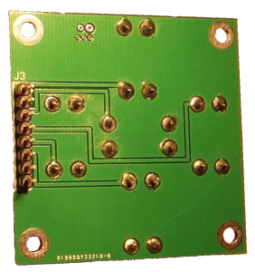 SimACo controller buttons board bottom view