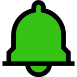 alarm icon green